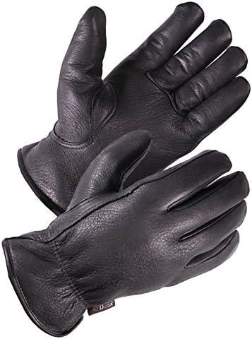 SKYDEER Full Premium Genuine Deerskin Leather Hi Performance Utility Winter Drivers Work Gloves product image