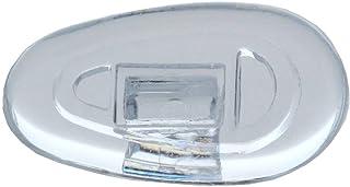 2 paar (4 stuks) neuspads/brillenpads – kliksysteem van silicone, verschillende Maten.