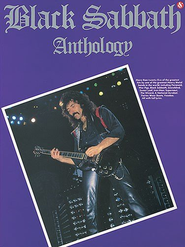 Black Sabbath Anthology. Partitions pour Tablature Guitare(Symboles d\'Accords)