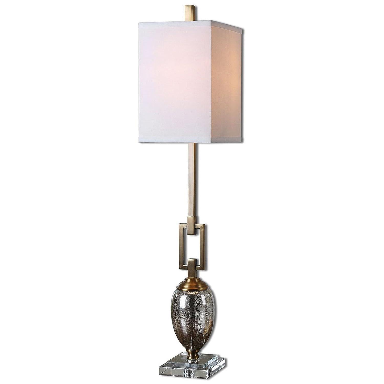 Uttermost 29338-1 Copeland Mercury Glass Buffet Lamp by Uttermost