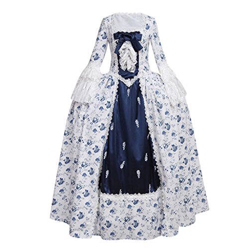 CosplayDiy Women's Rococo Ball Gown Gothic Victorian Dress Costume M