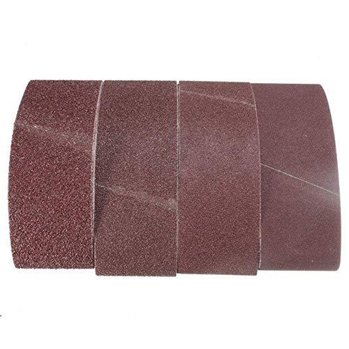 Nologo YO-TOKU - Bandas de lija para lijadora (75 mm x 457 mm)