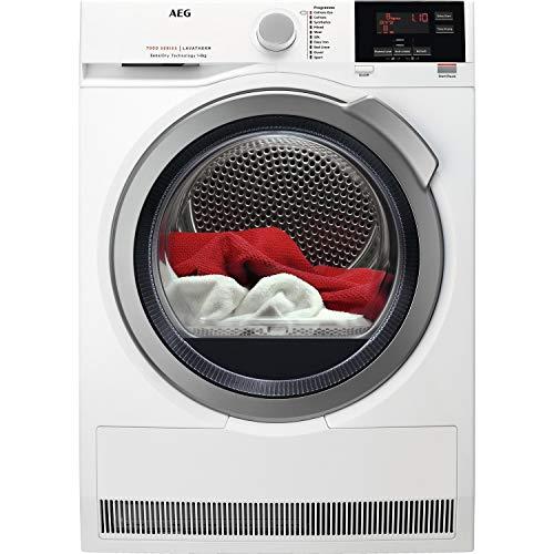 AEG T7DBG842R SensiDry ProSense 8kg Freestanding Heat Pump Tumble Dryer - White