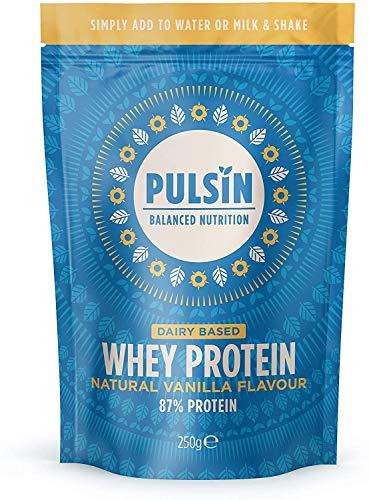 Pulsin Vanilla & Faba Flav Protein Powder, 250 g
