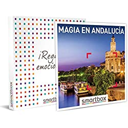 Smartbox - Caja Regalo - Magia en Andalucía - Idea de Regalo - 1 Noche con Desayuno y Cena, SPA o Bodega o 2 Noches con Desayuno para 2 Personas
