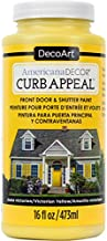 DecoArt Americana Decor Curb Appeal 16oz Vyellow CurbAppeal16oz