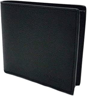 [コーチ] COACH 財布 (二つ折り財布) F75084 ブラック BLK レザー 二つ折り財布 メンズ [アウトレット品] [並行輸入品]
