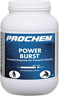 Prochem Power Burst, Professional Highly Concentrated Carpet Cleaning Powder, 1-6 lb jar