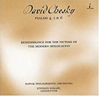 David Chesky: Psalms 4,5 & 6 for Orchestra by DAVID CHESKY (2001-03-27)