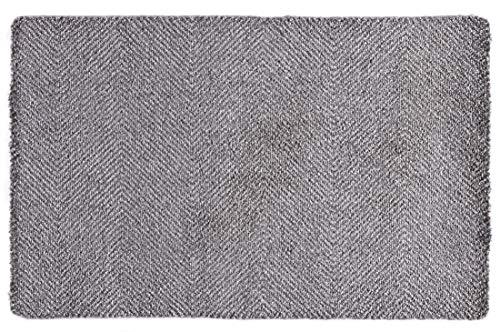 Hanse Home Rutschfeste Schmutzfangmatte Fußmatte für In- Und Outdoor Clean & Go Grau, 67x45 cm