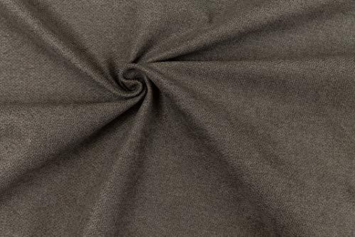 Generico Mica - Tessuto in Microfibra Idrorepellente e Antimacchia - Effetto bouclè a Tinta Unita - Altezza 140 cm - 1 Quantità = 50 cm - per Tappezzeria e Arredamento, Divani, Poltrone (10)