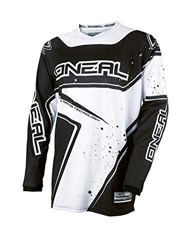 O'NEAL Element FR Jersey Trikot lang Racewear schwarz/weiß 2017 Oneal: Größe: M (48/50)