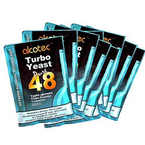 AlcoTec Turbohefe 48H - 20% in 5 Tagen! (10 Packungen)