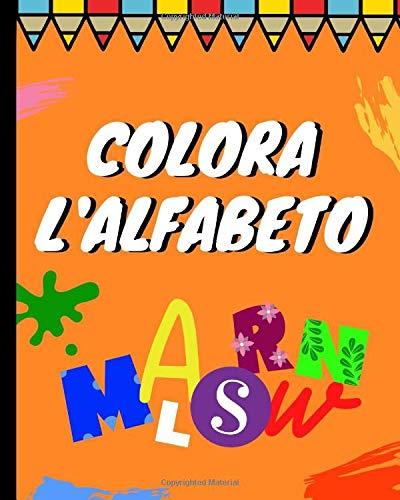 Colora l'alfabeto