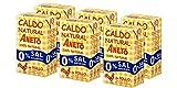Aneto 100% Natural - Caldo de Pollo 0% sal - caja de 6 unidades de 1 litro