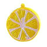 Pegcduu Caliente Blando Jumbo La Mitad de la Fruta de limón perfumado rápido Cámara Rising Llavero diversión del niño Juguete