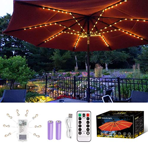 (40% OFF) Patio Umbrella LED Lights $14.99 – Coupon Code