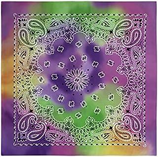 Bliss- Paisley Tie Dye Print Bandana 1Pc