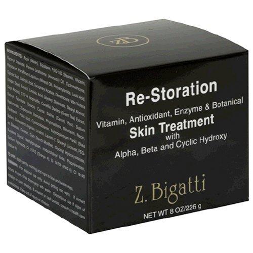 Z. Bigatti Re-Storation Vitamin, Antioxidant, Enzyme & Botanical Skin Treatment, with Alpha, Beta and Cyclic Hydroxy, 8 oz (226 g)