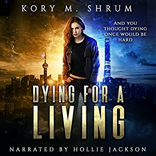 Dying for a Living audiobook cover art
