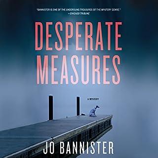 Desperate Measures audiobook cover art