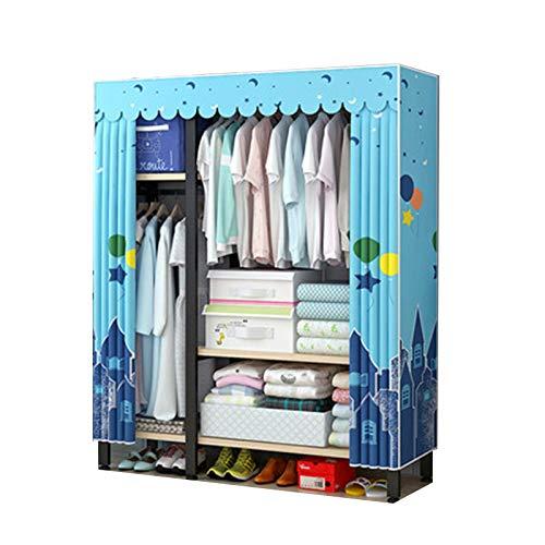 Armario Simple Dormitorio En Casa Armario De Tela Simple Y Moderno Armario De Dormitorio Resistente Y Duradero Armario De Almacenamiento,4