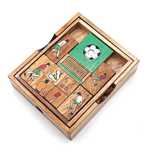 楽しいギフトゲーム マインドパズル 大人用 3Dパズル 子供の脳の体操に挑戦 木製のスライドマスターゲームボックスでゴールを蹴る 楽しく楽しいものを作ろう