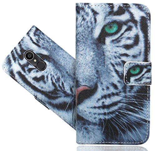 Alcatel 3C Handy Tasche, FoneExpert® Wallet Hülle Flip Cover Hüllen Etui Hülle Ledertasche Lederhülle Schutzhülle Für Alcatel 3C