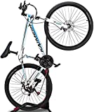 ZUKVYE Bicycle Stand Vertical Bike Rack, Indoor Bicycle Storage Mount,Road Bike Storage - Space Saving and No Damage Wall(fit 20-27 Inch Bikes)