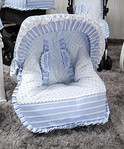 Babyline Oporto - Colchoneta para silla grupo 0, color azul