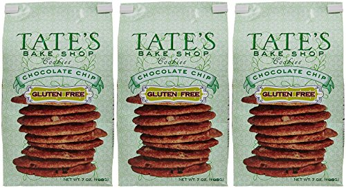Tate's Bake Shop Gluten Free Cookies - Chocolate Chip - 7 oz - 3 Pack