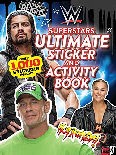 WWE Superstars Ultimate Sticker and Activity Book