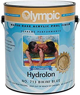 Olympic Hydrolon Water-Based Acrylic Swimming Pool Paint - Bikini Blue