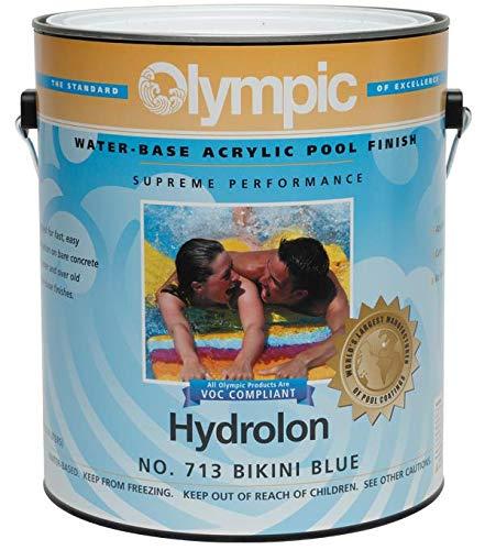Olympic Hydrolon Water-Based Acrylic Swimming Pool Paint - Bikini Blue