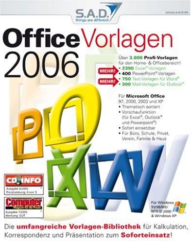 Office Vorlagen 2006 [import allemand]