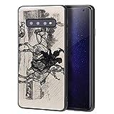 Edwin Henry Landseer Para Samsung Galaxy S10 Plus Carcasa/del teléfono celular de arte del teléfono celular de arte/Impresión Giclee en la cubierta del móvil(Due Giovani camini spazza su Un Cavallo)