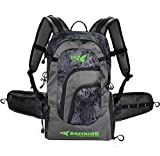 KastKing Day Tripper Fishing Backpack Tackle Bags, Fishing Gear Bag, Large Waterproof Fishing Tackle Storage Bags, Blackout, Extra-Large(21.25x13.4x9.25 Inches, Without Box)