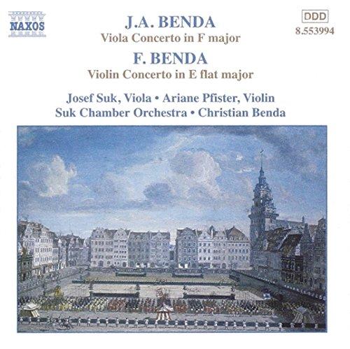 Konzerte für Streicher (G.a. Benda/F. Benda)