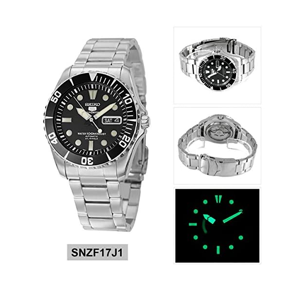 Fashion Shopping Seiko 5 Sports Automatic Watch Made ??in Japan SNZF17J1 Men's