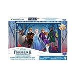 Spin Master- Anna & Elsa Puzzle de Madera, Multicolor (20115367)