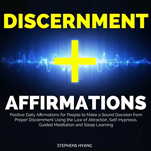 Discernment Affirmations audiobook cover art