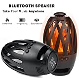 Liibot Led Flame Speaker Creative Lamp Bluetooth Speaker with...