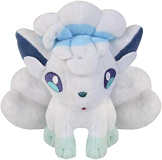 Cuddly-store Alola Vulpix Soft Stuffed Doll Plush Toy - 8 Inch