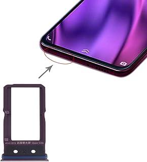 修理部品 SIMカードトレイ+ Vivo NEXデュアルディスプレイ用SIMカードトレイ(ブラック) スペアパーツ (Color : Purple)