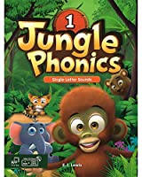 JUNGLE PHONICS 1 STUDENT BOOK WITH STUDENT DIGITAL MATERIALS