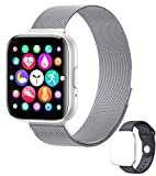 <span class='highlight'>Smart</span><span class='highlight'>watch</span> 1.55-inch sports <span class='highlight'>watch</span>, fitness tracker, call via IPS <span class='highlight'>touch</span> <span class='highlight'>screen</span>, sleep tracking waterproof function compatible heart rate, music player and <span class='highlight'>Bluetooth</span> phone, waterproof function.