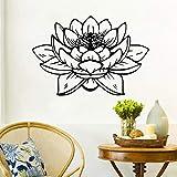 Buddha Lotus Wandaufkleber Bad Wasserdicht Vinyl Wandtattoos Wohnkultur Wandbilder Glas Dekoration...