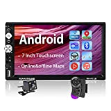 Podofo Car Stereo Double Din Android Car Radio Navigation Auto Radio with Bluetooth