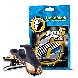 HeadBlade S4 Moto Goldfinger Men's Head Shaving Razor -...