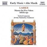 Lassus: Masses for Five Voices; Infelix Ego /Oxford Camerata ? Summerly by Orlande de Lassus (1993-11-26)